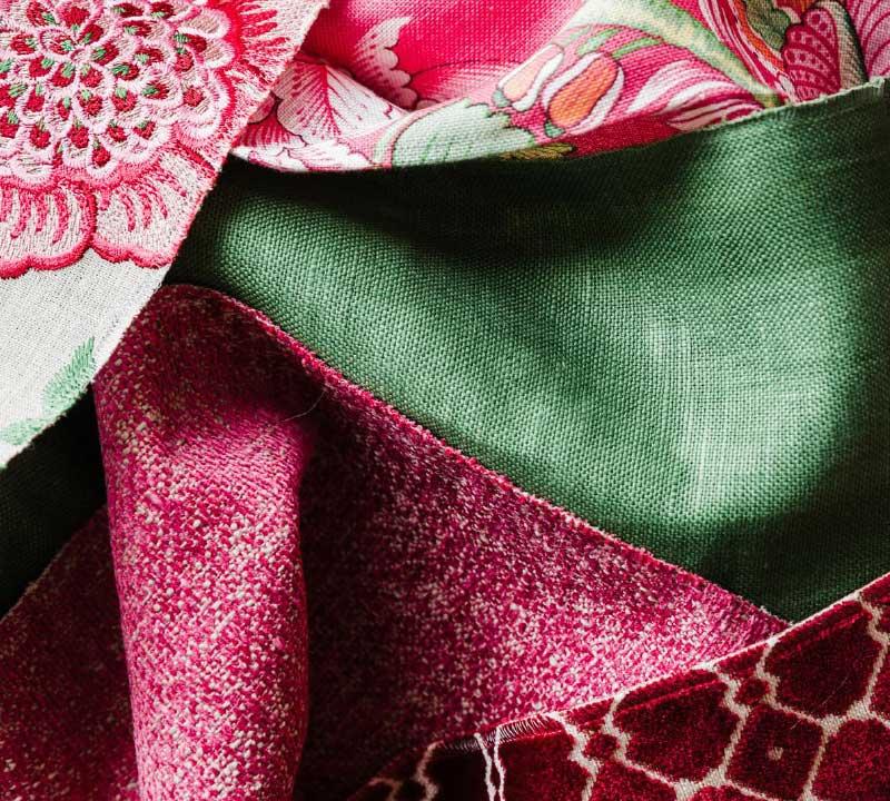 ... Close-up textile samples | interior design perth 2/2